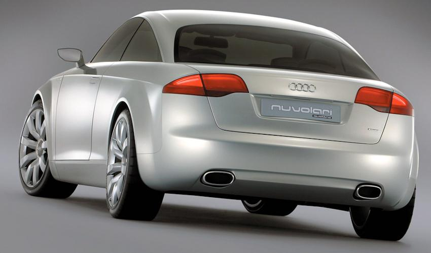 Audi Nuvolari Quattro concept car rear view