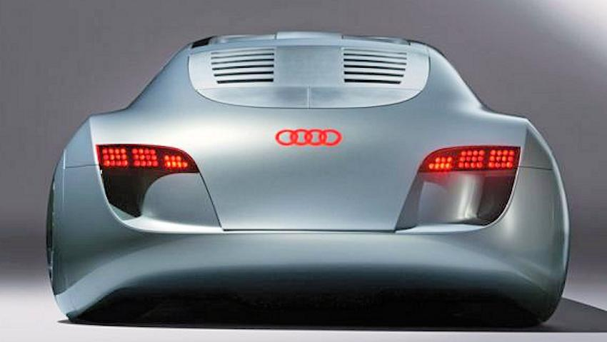 Audi RSQ concept car rear view from 2004