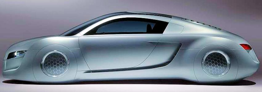 Audi RSQ concept car from 2004 side view