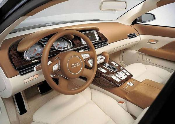 Audi Avantissimo concept car interior view