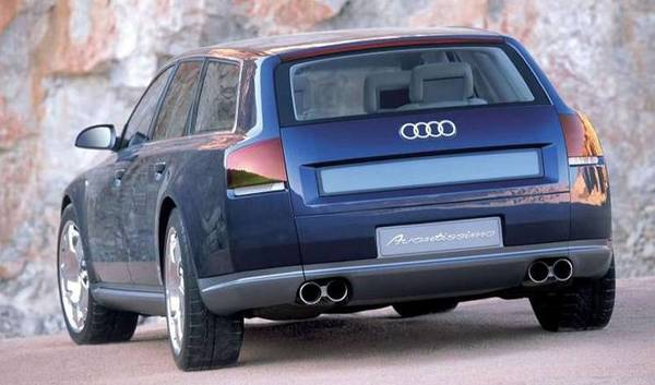Audi Avantissimo concept car rear view