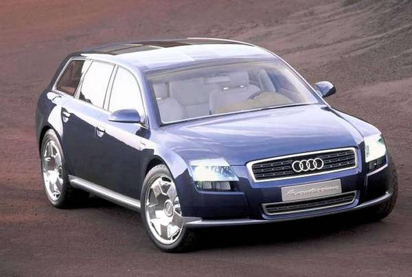 Audi Avantissimo concept car from 2001