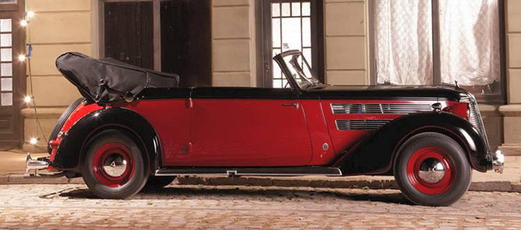 Audi 920 cabriolet side view