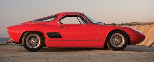 1963 ats 2500 gt side view