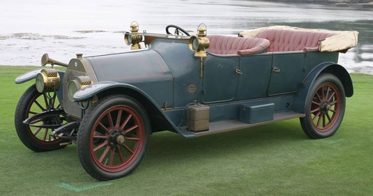The A.L.F.A 24 HP side view