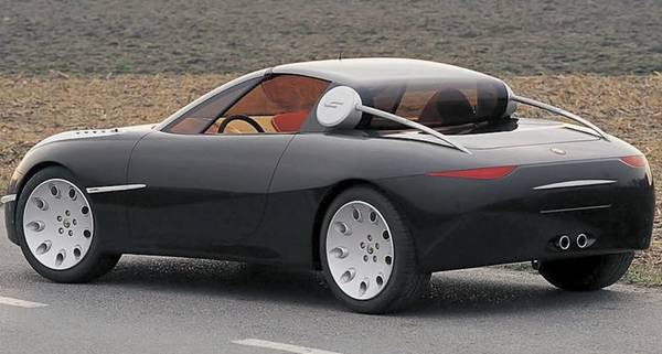 Alfa Romeo Vola concept car rear view