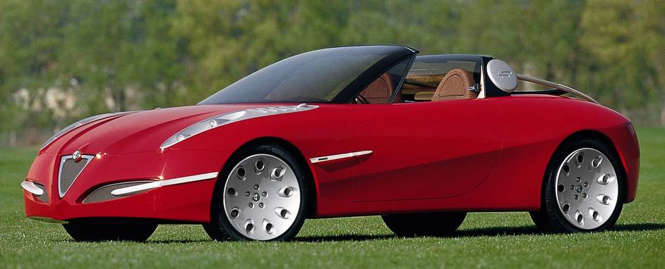 Alfa Romeo Vola concept car side view