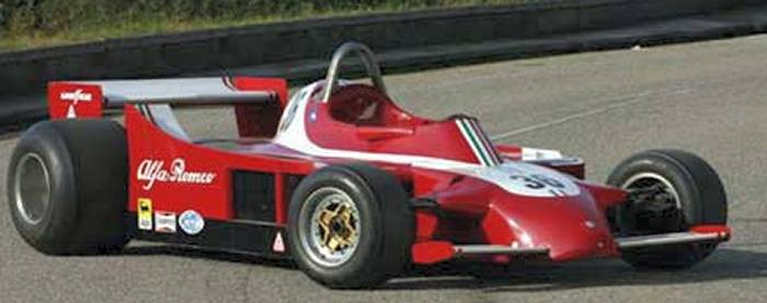 Alfa Romeo 177 Formula One car #36