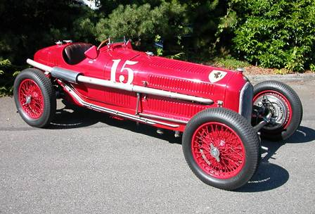 Alfa Romeo P3 gp car 1930s