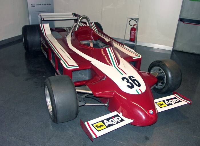 Alfa Romeo 177 GP car