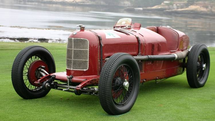 Alfa Romeo P2 race gp car history