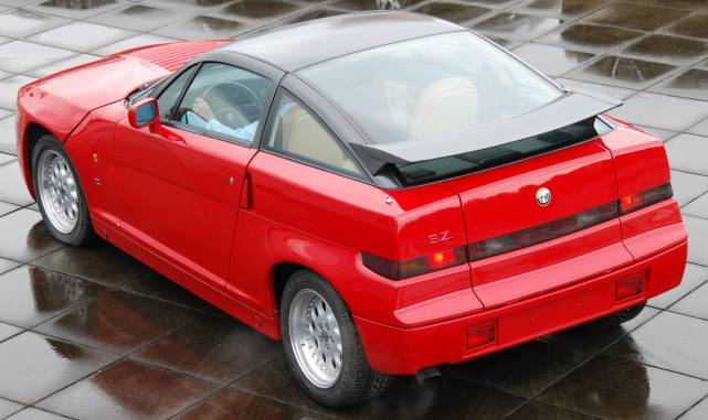 Alfa Romeo SZ Zagato rear view