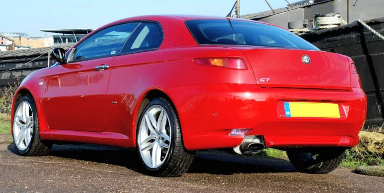 Alfa Romeo GT rear view