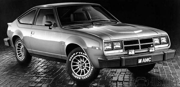 1983 AMC Spirit GT front view