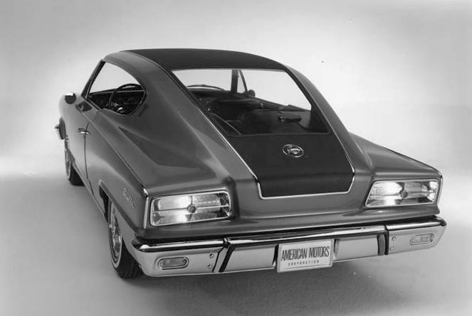 AMC Rambler Tarpon concept car rear view