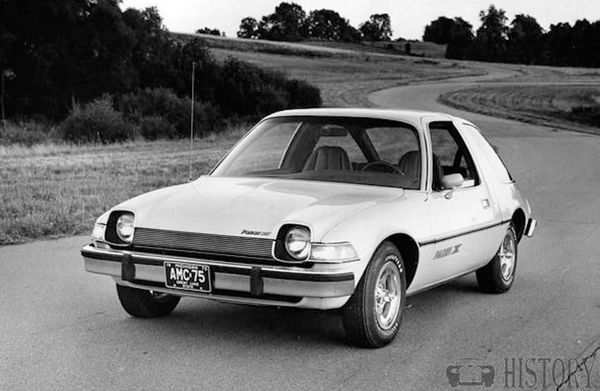 1975 AMC Pacer X front view