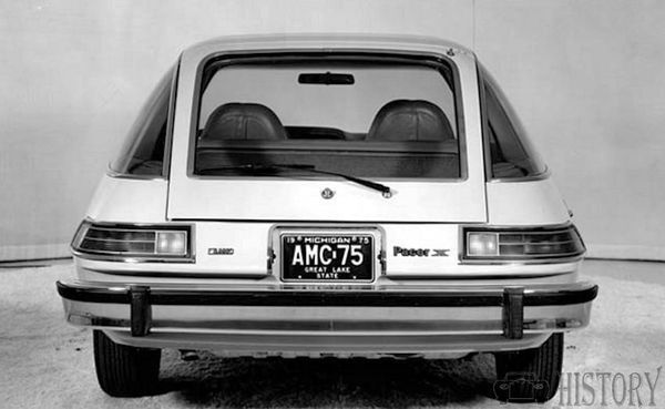 1975 AMC Pacer X rear view