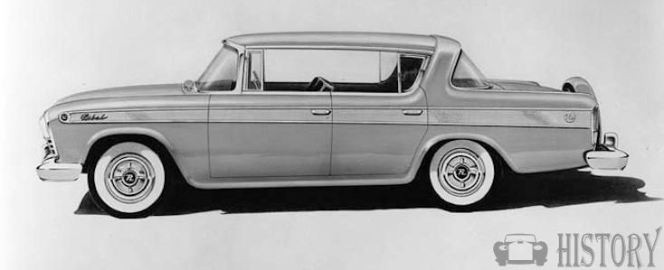 AMC Rambler Rebel First Generation original artwork
