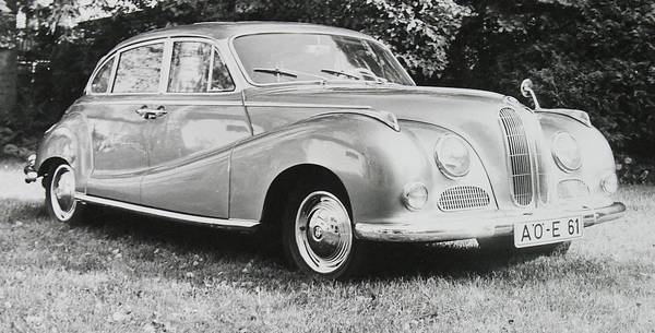 BMW - BMW 501 (1952-1962)-Motor Car History