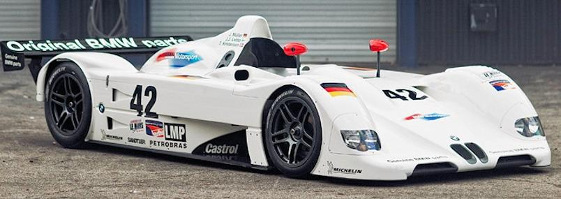 BMW V12 LMR Race side view
