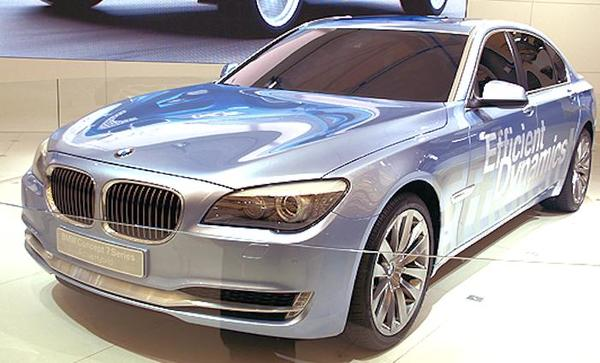 BMW Concept 7 Series ActiveHybrid car from 2007
