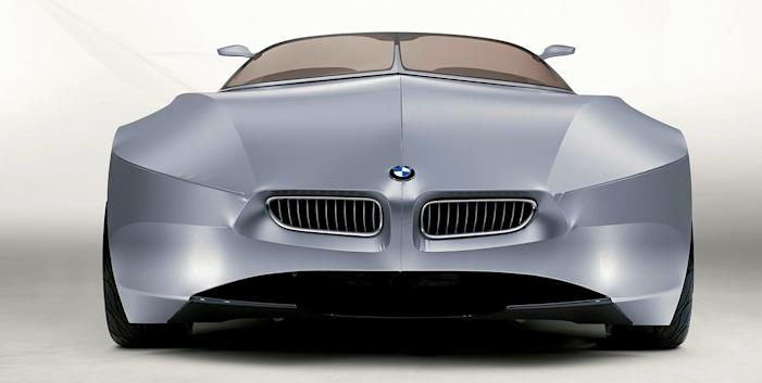 BMW GINA concept car fron 2001 front view