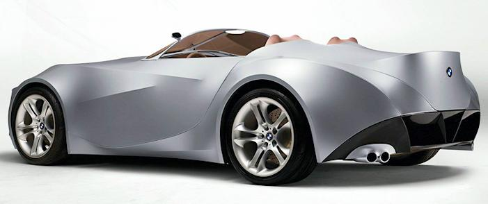 BMW GINA concept rear view