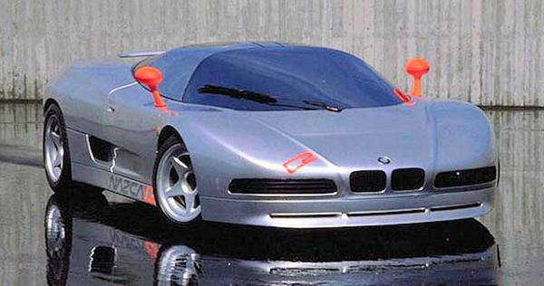BMW Nazca C2 concept car from 1992 history