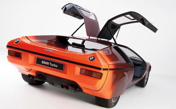 BMW Turbo concept gul wing