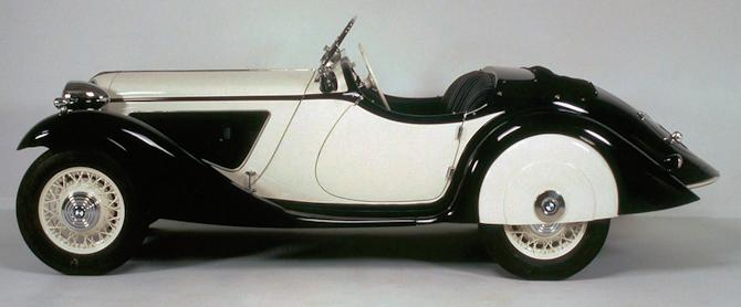 BMW 315/1 roadster side view