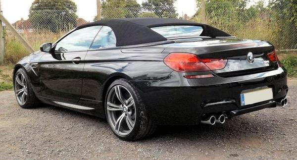BMW M6 Third generation 2013 cabriolet rear view