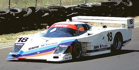 BMW GTP Race car from 1986