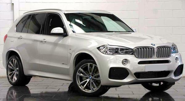 BMW X5 third generation range from 2013