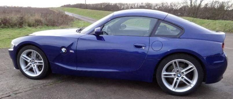 BMW Z4 M coupe E85 side view