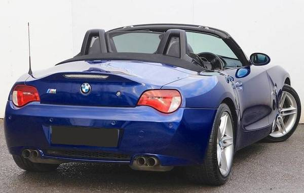 BMW Z4 M  E85 rear view