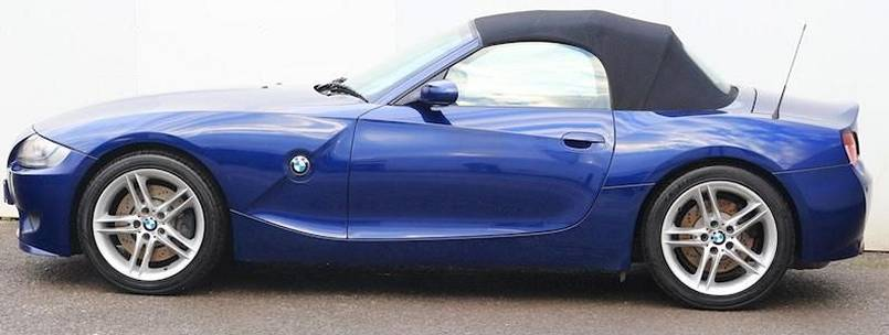 BMW Z4 M Roadster E85 side view