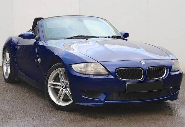 BMW Z4 M Roadster coupe E85 range