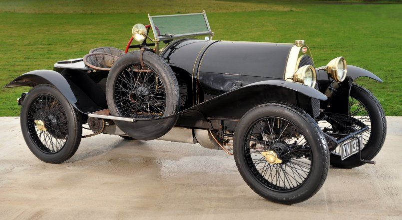 Bugatti Type 18 side view