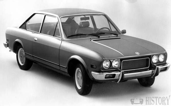 Fiat 124 Coupe car history