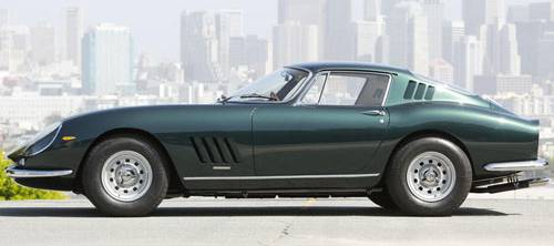 Ferrari 275GTB car side view