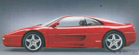 Ferrari F355 Berlinetta car