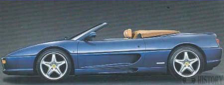Ferrari F355 spider car