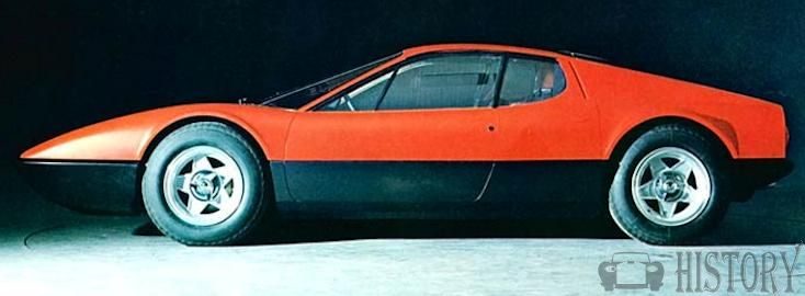 Ferrari 365 GT4 Berlinetta Boxer side view 1973