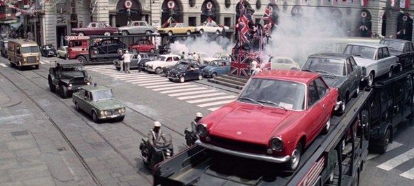 1967-Fiat-124-Sport-Coupe-in-The-talian Job Movie 1969