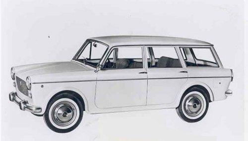 Fiat Fiat 1100 D R 1962 1969 Motor Car History