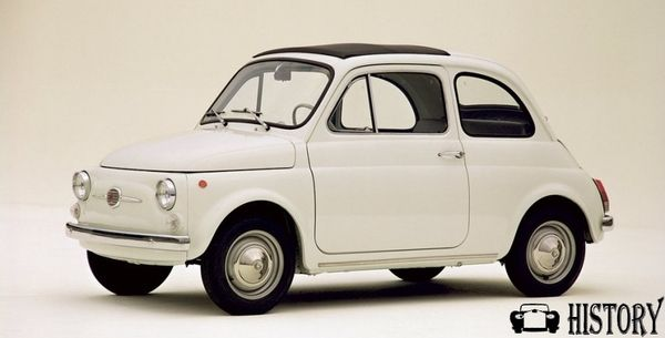 1957 Fiat 500 side view