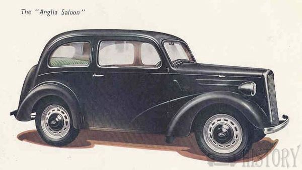 1946 Ford Anglia saloon