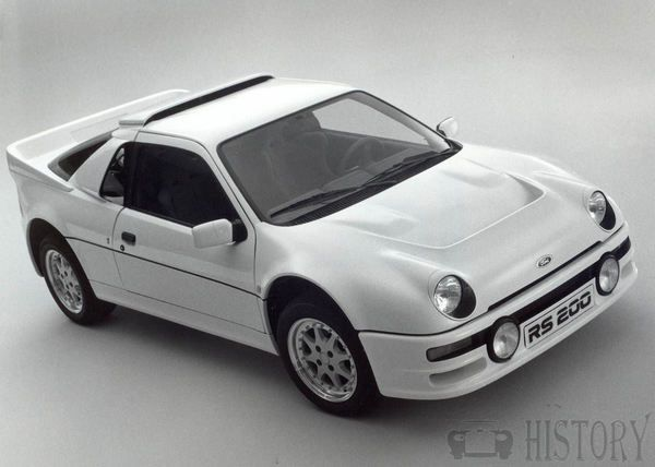 Ford RS200 car history