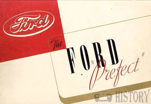 Ford Prefect Brochure 1930s