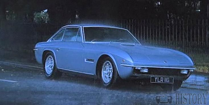 Roger Moore thriller The Man Who Haunted Himself. Lamborghini Islero